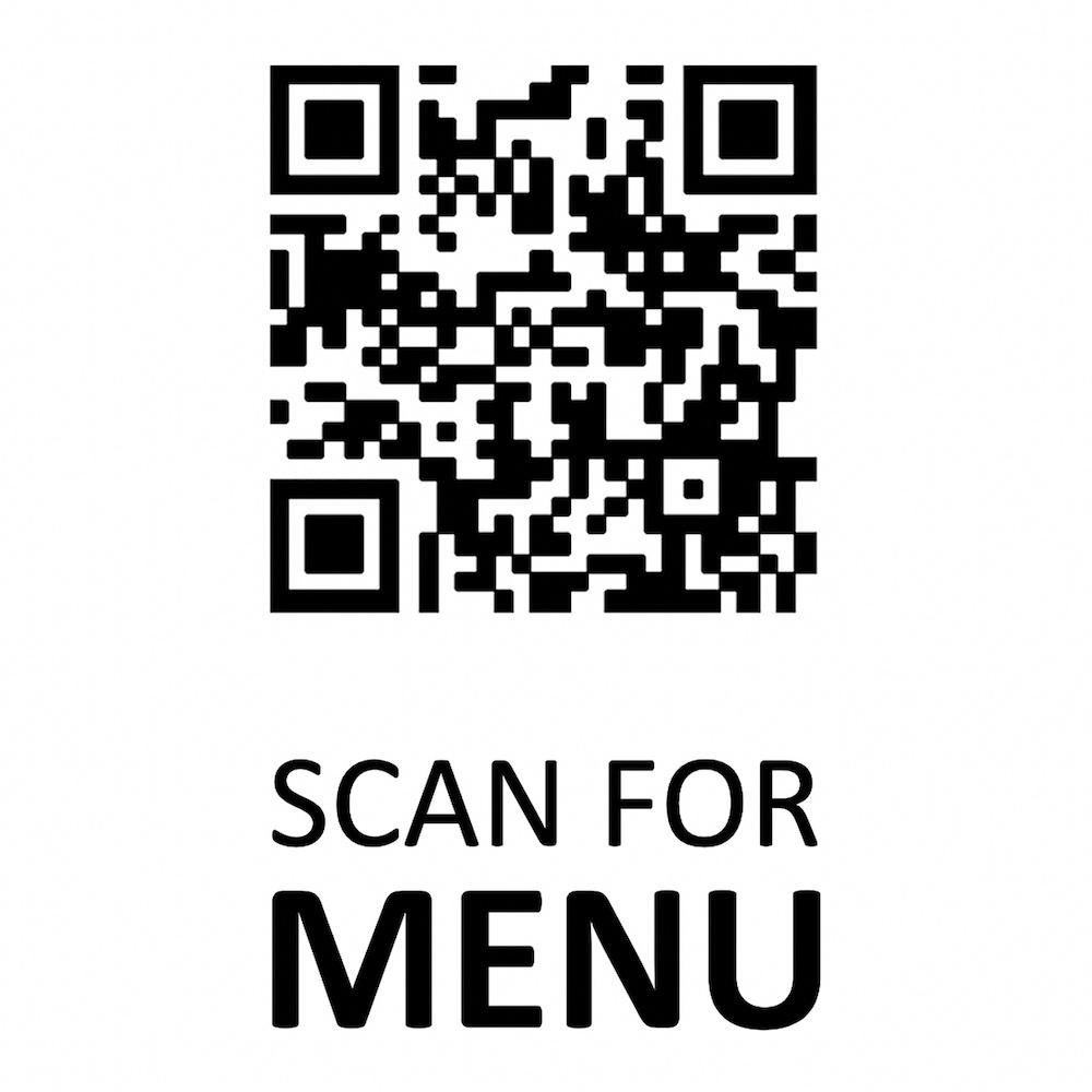 Código QR para menú de restaurante